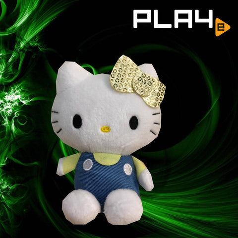 "SEGA Plaza Hello Kitty 4"" Yellow Ribbon"