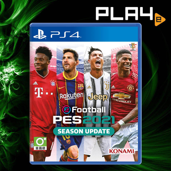 PS4 Football PES 2021 Season Update (R3)