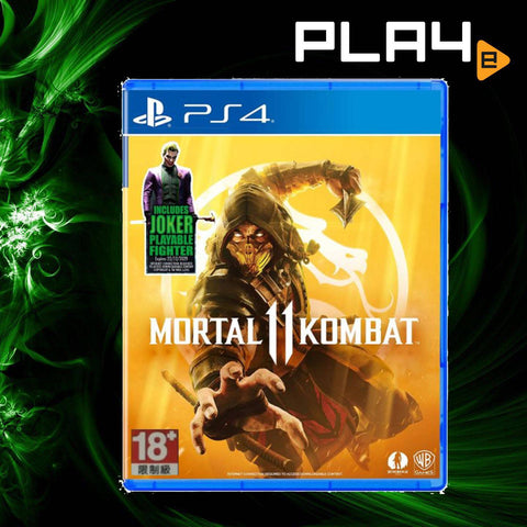 PS4 Mortal Kombat 11 + Joker DLC (R3)