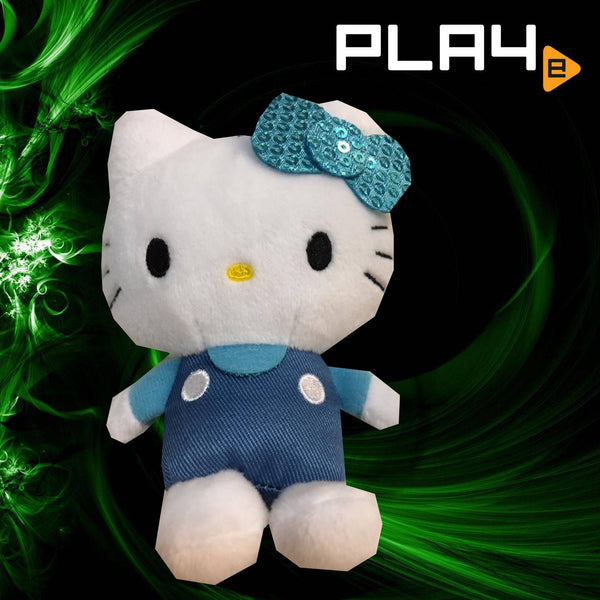 "SEGA Plaza Hello Kitty 4"" Blue Ribbon"