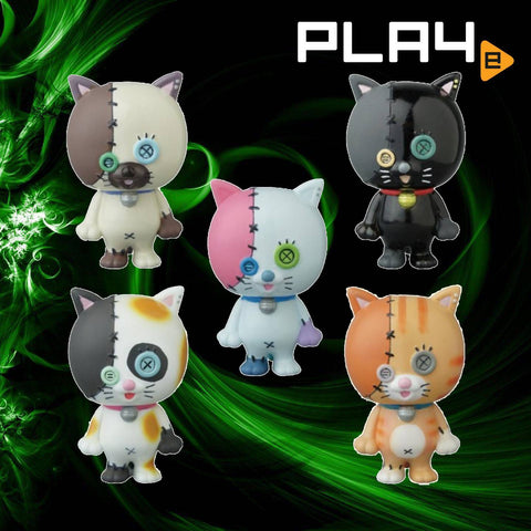 Vinyl Artist Gacha Series 18 Cats (Set of 5)