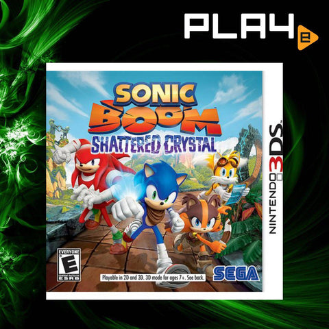 3DS Sonic Boom: Shattered Crystal