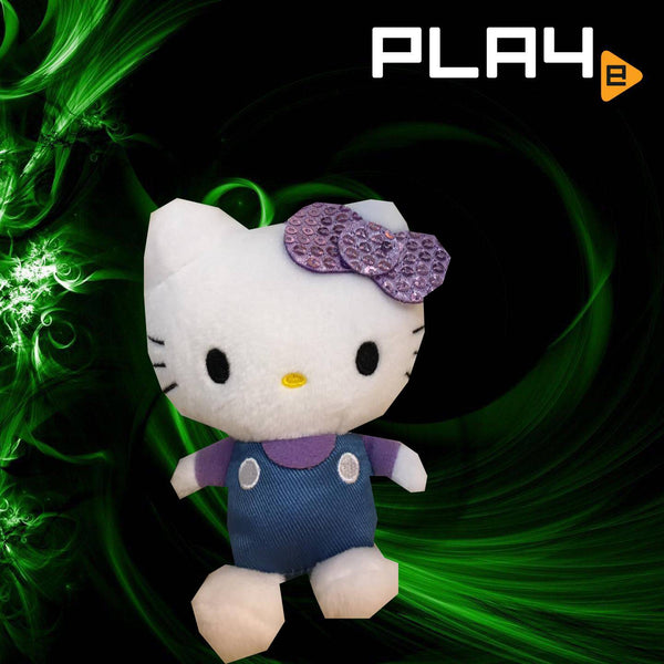"SEGA Plaza Hello Kitty 4"" Purple Ribbon"