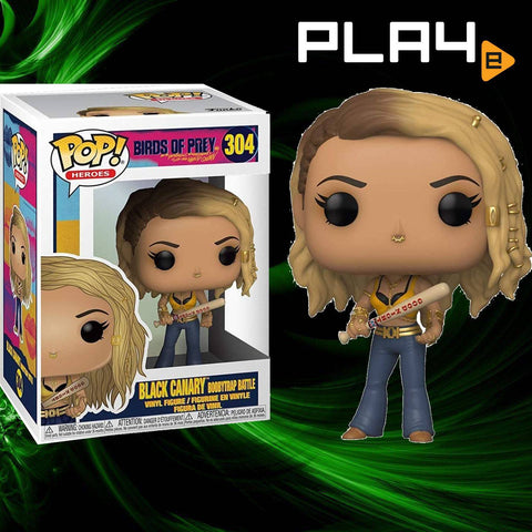 Funko POP! (304) Birds of Prey Black Canary EE Exclusive
