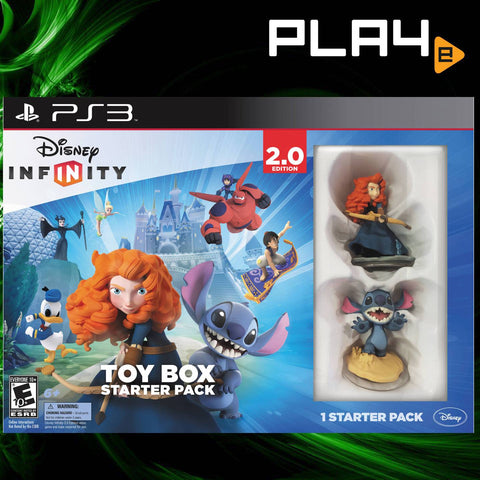 PS3 Disney Infinity 2.0 Toy Box Starter