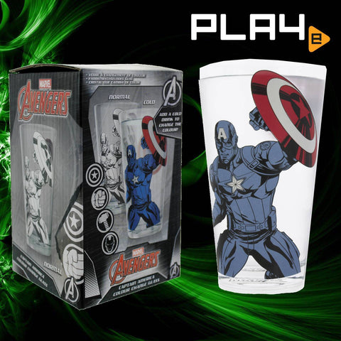 Paladone Captain America Color Change Glass