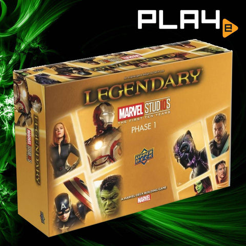 Upper Deck Marvel Phase 1 Legendary Deck Game
