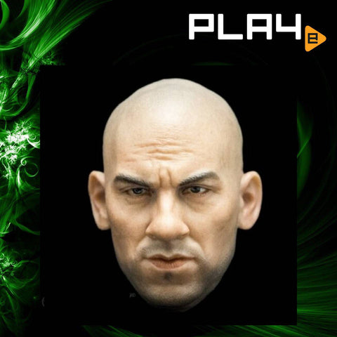 CIAN T-0010 1/6 Head Model Sculpl Vin Diesel