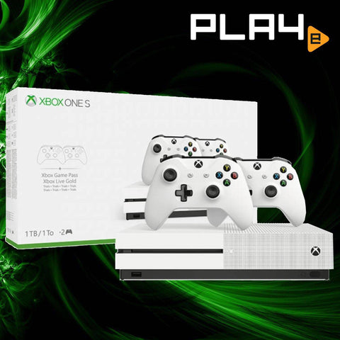 XBox One S Local 1TB 2 Controllers Console