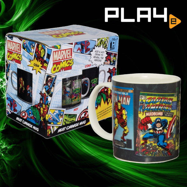 Paladone Marvel Comics Heat Change Mug