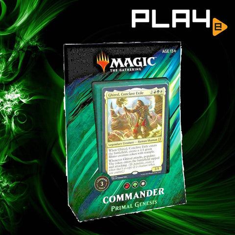 Magic The Gathering Commander 2019 Deck - Primal Genesis