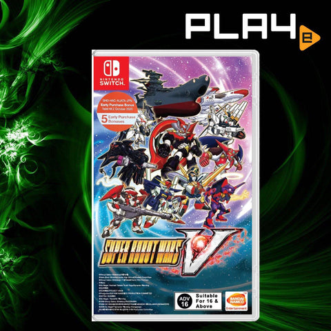 Nintendo Switch Super Robot Wars V