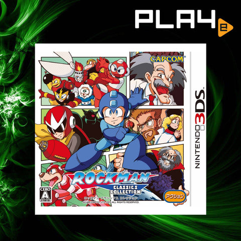 3DS Rockman Classics Collection (Jap)