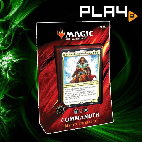 Magic The Gathering Commander 2019 Deck - Mystic Intellect