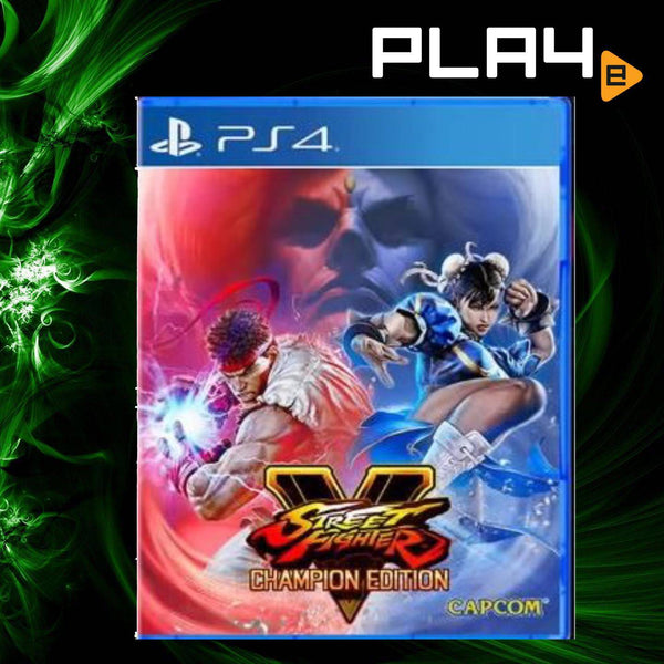 PS4 Street Fighter V: Champion Edition (R3)