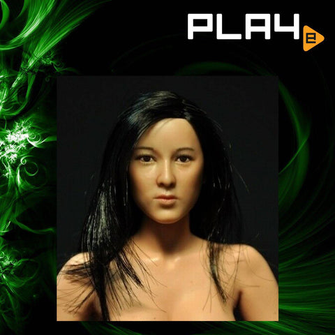 CIAN - T-0012- 1/6 Asian Girl Head Sculpt - Linda