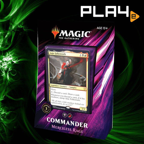 Magic The Gathering Commander 2019 Deck - Merciless Rage