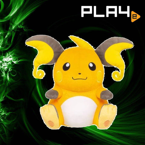 "Bandai Pokemon 12"" Plush Raichu"