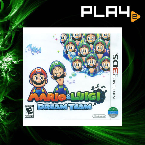 3DS Mario And Luigi Dream Team