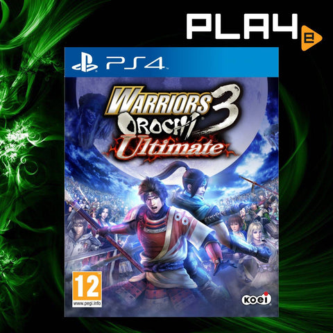 PS4 Warriors Orochi 3: Ultimate (EU)