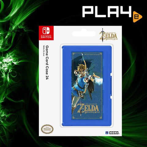 Nintendo Switch Hori 24 Card Case - Zelda Bowt Blue