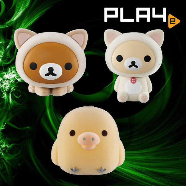 Bandai Capcara Rilakkuma (Set of 3)