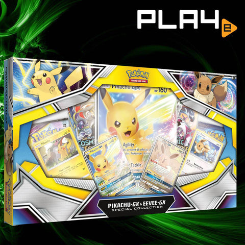 Pokemon TGC Pikachu and Eevee GX Special Collection