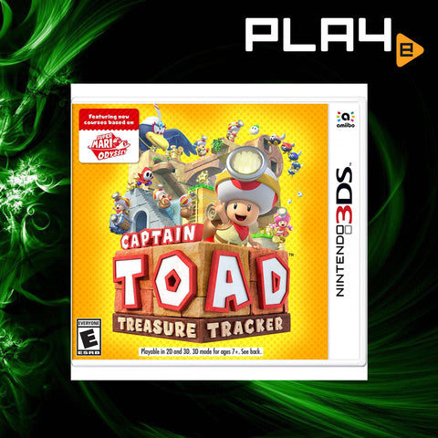 3DS Captain Toad Treasure Tracker