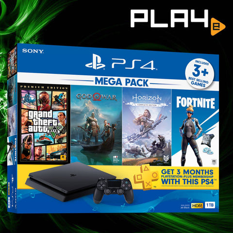 PS4 Local 2019 Mega Pack #2 1TB Console