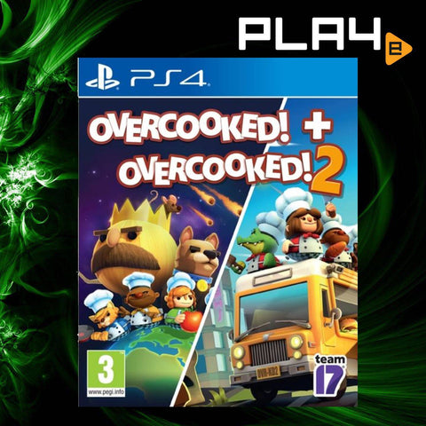 PS4 Overcooked! + Overcooked! 2 Bundle (EU)