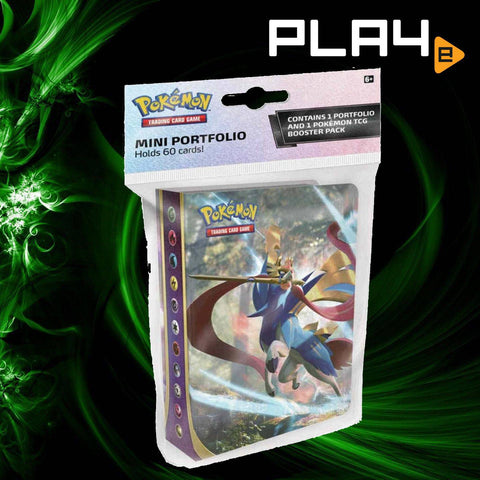 Pokemon SS1 Sword & Shield Mini Portfolio with Booster