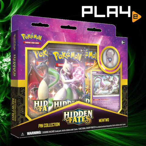 Pokemon Hidden Fates Pin Collection - Mewtwo