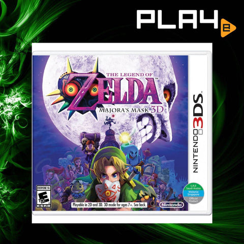 3DS The Legend of Zelda: Majora's Mask 3D