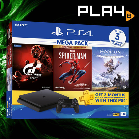 PS4 Local 2020 Mega Pack #3 1TB Console