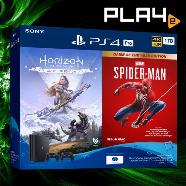 PS4 Local Pro Bundle 1TB Horizon/Spider-Man Console