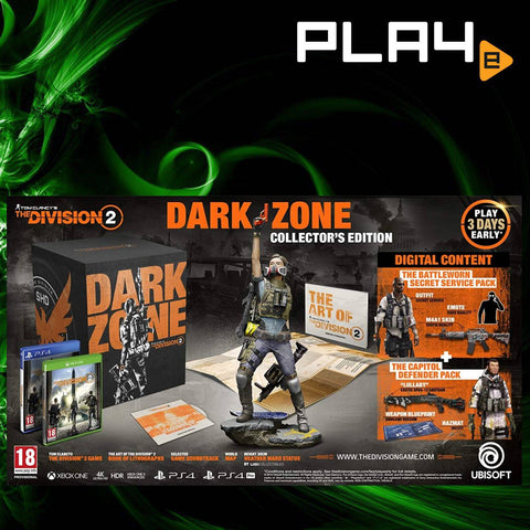 PS4 Tom Clancy's The Division 2 (Dark Zone Edition) (R2)