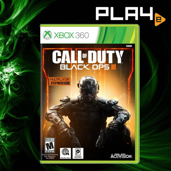 XBox 360 Call of Duty: Black Ops III (No DLC Included)