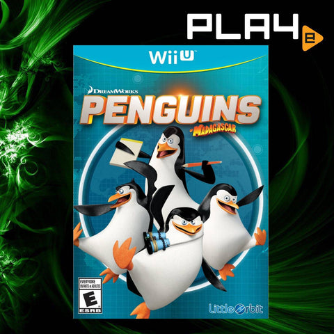 Wii U Penguins of Madagascar