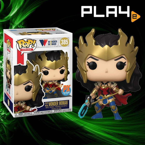 Funko POP! (385) DC Death Metal Wonder Woman PX