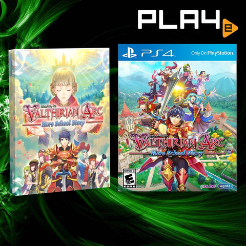 PS4 Valthirian Arc: Hero School Story Steelcase Edition (Promo End 4 October 2020)