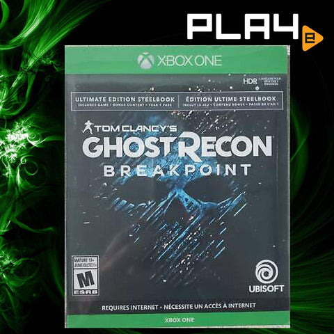 XBox One Tom Clancy's Ghost Recon: Breakpoint SteelBook (R1)