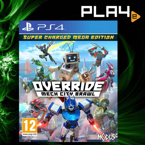 PS4 Override: Mech City Brawl [Super Charged Mega Edition] (EU) (Pre-Order)