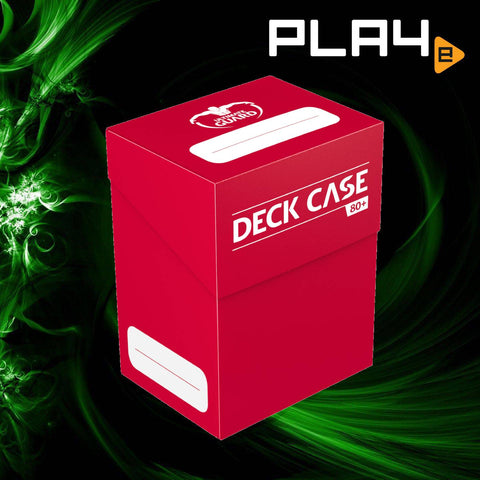 Ultimate Guard: Deck Case 80+ - Red