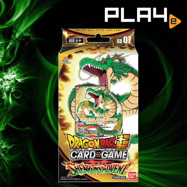 Bandai Dragon Ball Shenron's Advent Starter Deck