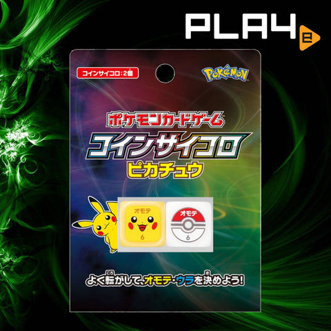 Pokemon Card Game Coin Dice Pikachu