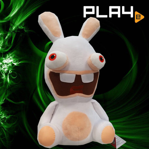 "Rabbids 15"" Plush - Sit Down Open Mouth"