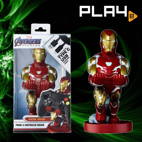 Cable Guys Phone/Controller Holder Iron Man