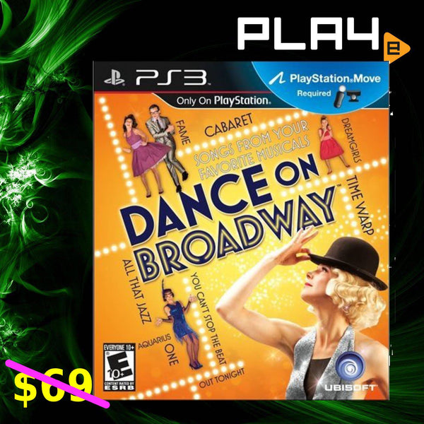 PS3 Dance On Broadway