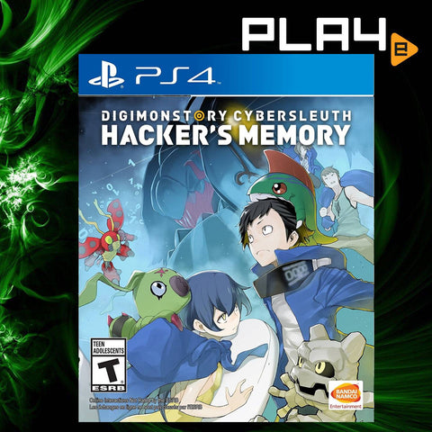 PS4  Digimon Story Cyber Sleuth: Hacker's Memory (US)