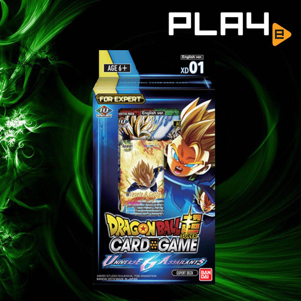 "Bandai Dragon Ball S DB7 ""Universe 6 Assailants"" XD01 Deck"